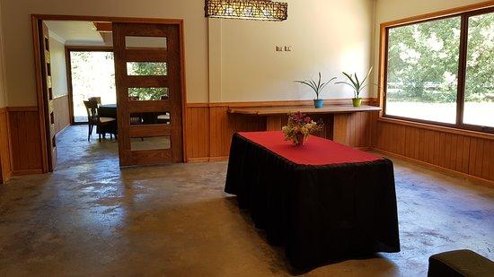 Padre las Casas, شيلي: Salones de uso común, Lodge Espacio Vert.