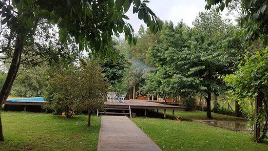 Padre las Casas, شيلي: Espacios naturales de nuestro Lodge Espacio Vert.
