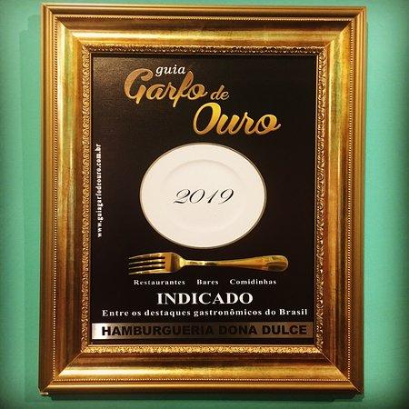 Indicado 2019 Guia Garfo de Ouro
