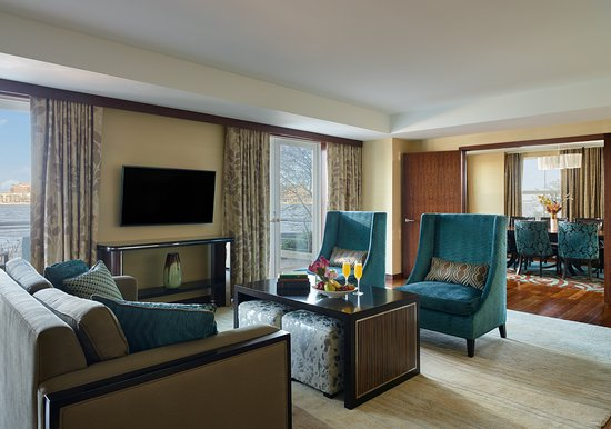 Battery Wharf Hotel, Boston Waterfront: Presidential Suite