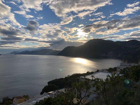 Il Rifugio dei Peccatori : great view of the setting sun