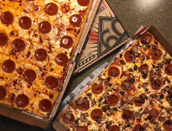 Ledo Pizza: Ledo Pepperoni and Meatlovers Pizza