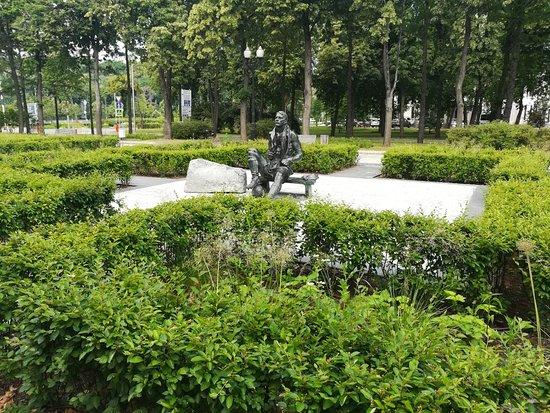 Памятник Николаю Старостину в Лужниках