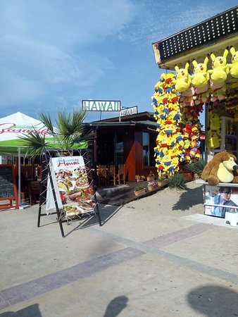 Hawaii Restaurant and bar Sunny Beach: Our favourite in Sunny Beach