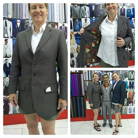 Lucky Design Custom Tailors: Happy customer from USA