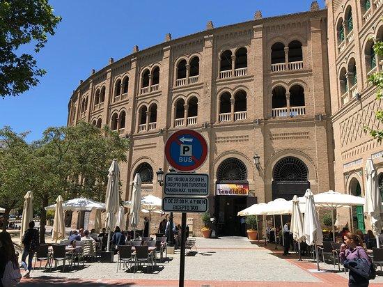 Bull ring in Granada