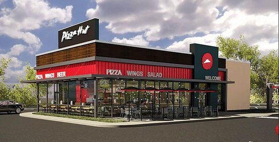 USA: This a Photo of a Pizza Hut.