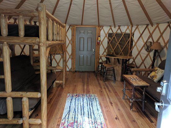 Inside Yurt 8 Picture Of Cloudland Canyon State Park Rising Fawn Tripadvisor Yurt is one of the oldest and greatest inventions of eurasian nomads. picture of cloudland canyon state park