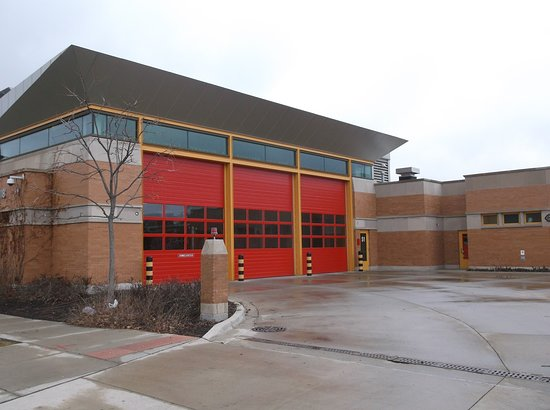 USA: This is a photo of another Fire Station.