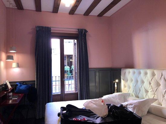 Posada del Leon de Oro: Balcony Room #105