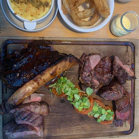Business Meeting Steak Platter