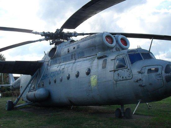 Museum of the Civil Aviation History: mi 6