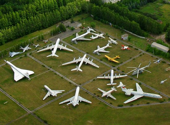 Museum of the Civil Aviation History: view