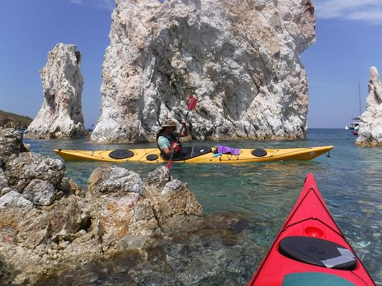 Sea Kayak Milos: Paddling around the miriad of small volcanic islands