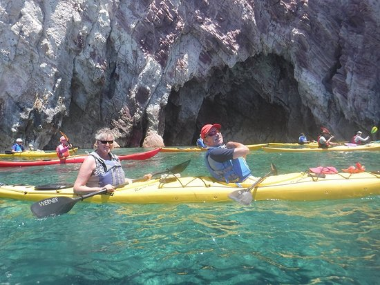 Sea Kayak Milos: One of over 300 photos taken during the holiday .....