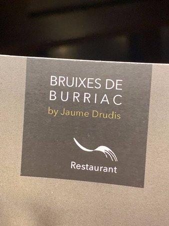 Restaurant Bruixes de Burriac: En el Hotel Gran Claustre de Altafulla !