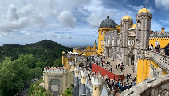 Sintra and Cabo da Roca with Pena Palace Full-Day Small Group Tour from Lisbon: Pena Palace