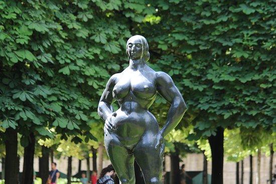 Sculpture Standing Woman
