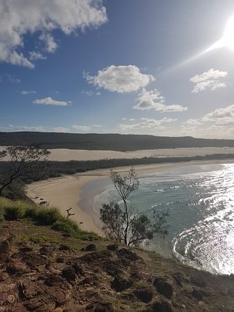 Urangan, Австралия: Fraser island at it's best!! Thanks Fraser Magic 4wd Hire.