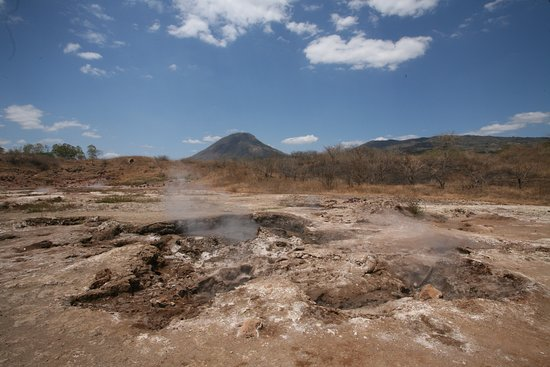 Hervideros de San Jacinto: San Jacinto is a volcanic field where you can walk among bubbling mud holes and experience volcanic power first hand.