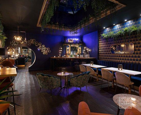 Lost Society Battersea: Lounge bar.