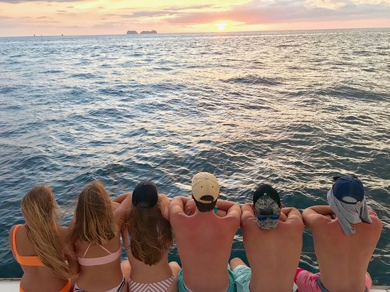 ConchalFun: Sunset snorkel cruise