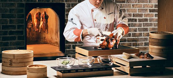Authentic Chinese-style Peking duck every Wednesday at the buffet