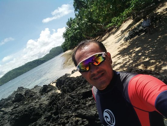 Cagdianao, Filippijnen: Still at Tagbiyaran Public Beach Resort!