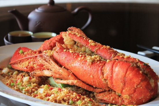Li Bai Restaurant: Lobsters