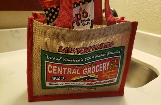 Central Grocery Company: Cute lunch bag (sold separately but great souvenir).