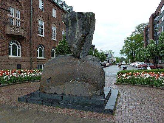 Nassjo, Suecia: Statyn ''Kolskyffeln'' i Nässjö