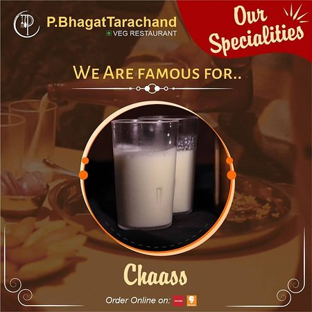 JO DIMAG KA DAHI KARE, USKO CHAAS BANA K PEELEIN . Otherwise we have the Best Chhaas in town! Drop in at P. Bhagat Tarachand, Jaggi City Centre, Ambala to beat the heat. . Or order online from Zomato or Swiggy