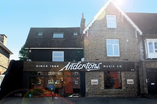 Andertons Music Co.: Andertons Music Shop Front