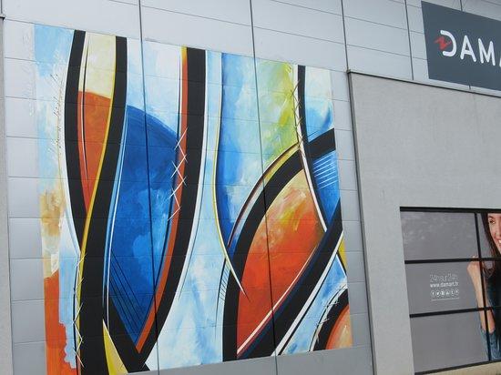 Fresque Courbes et ovales-2