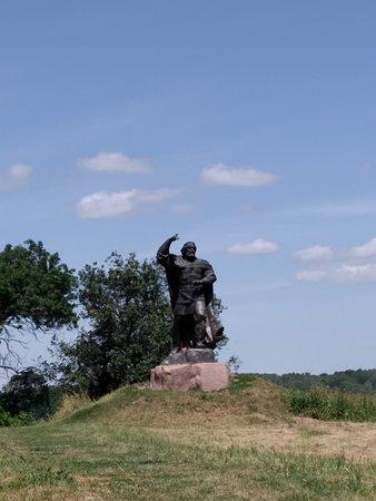 Novhorod-Siverskyi, ยูเครน: Памятник Бояну