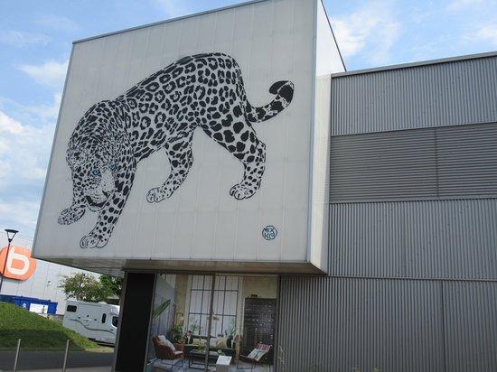 Fresque Le Jaguar