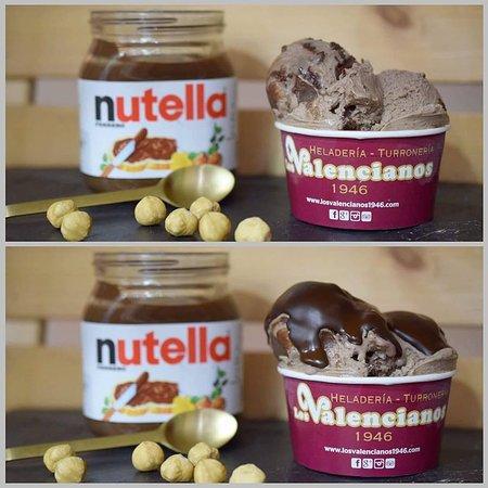Helado de Nutella Original.