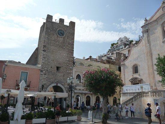 Taormina, in centro storico