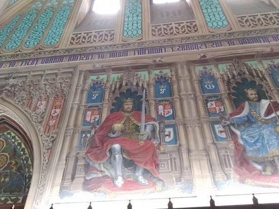 Palacio Laredo: Detalle de la Sala de los Reyes