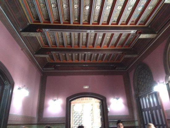 Palacio Laredo: Artesonado