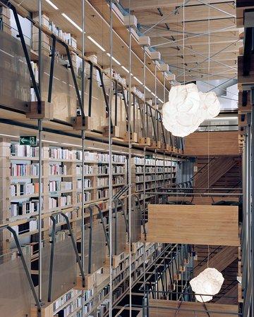 Montricher, สวิตเซอร์แลนด์: Bibliothèque de la Fondation Jan Michalski pour l'écriture et la littérature