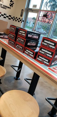 Jimmy John's: Complete boxed lunches for your get together or office meeting