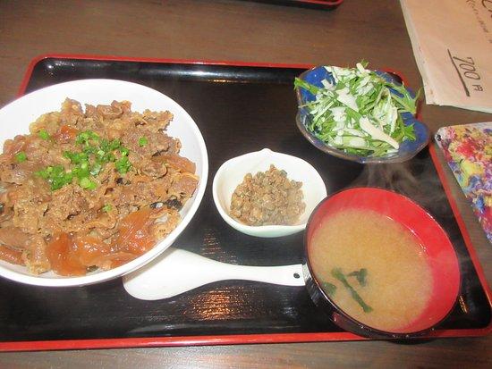 Sakaya Karakoro Hiroba: 牛丼セット