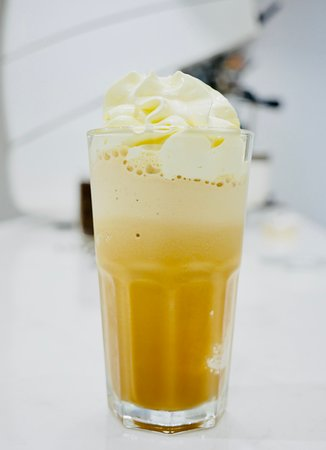 Coffee ice blended
