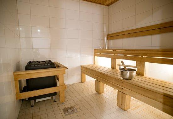 Södra Sunderbyn, Szwecja: Relaxavdelning, bastu/sauna