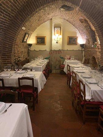 Insider's Travel: The cellar at Botin