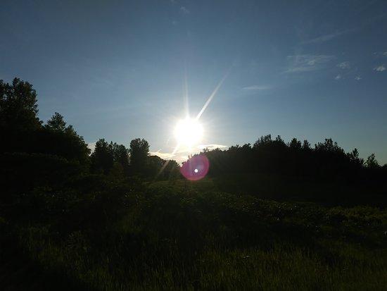 Elm Creek Park Reserve: The beautiful sunsets...