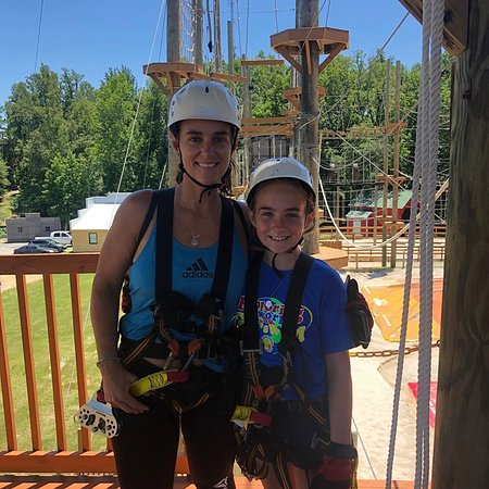 What a way to bond with family, make a memory at Kersey Valley Zipline.