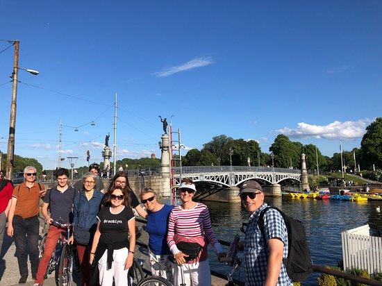 Stockholm at a Glance Bike Tour صورة