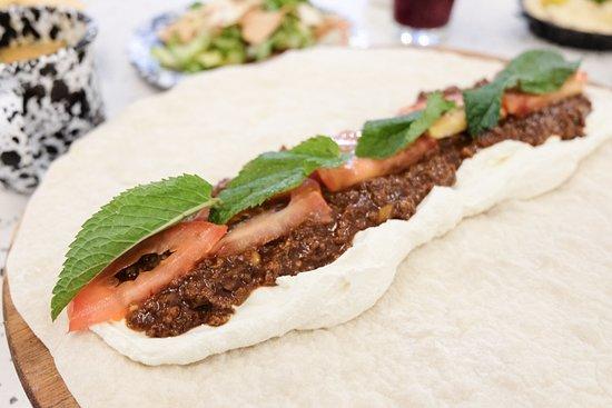 Beef & Labneh Manousheh